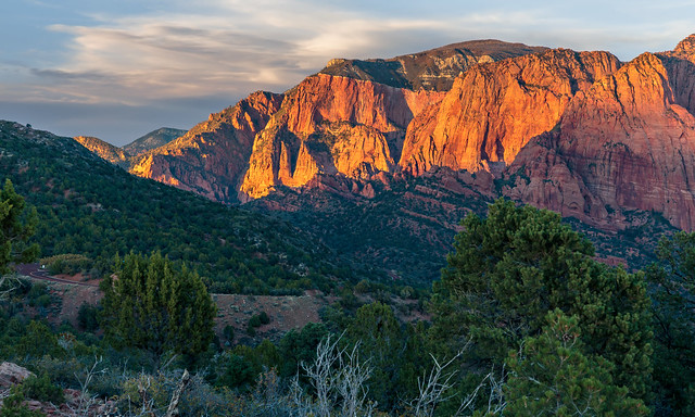 Timber Creek Overlook in Kolob by Rick Knepper on flickr