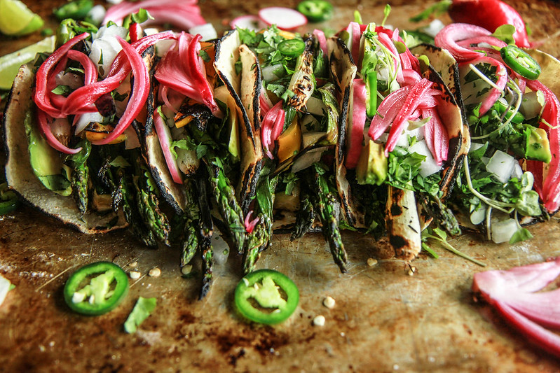 Farmers Market Green Goddess Taco's- Vegan from HeatherChristo.com