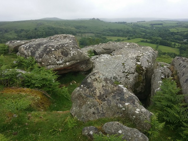 Lower Leighon Tor (lower outcrop)