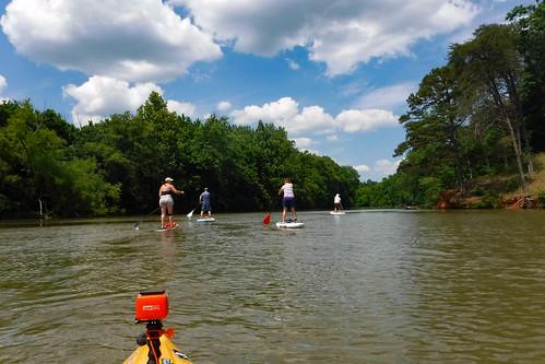 Kayaking and SUP on Saluda Lake-12