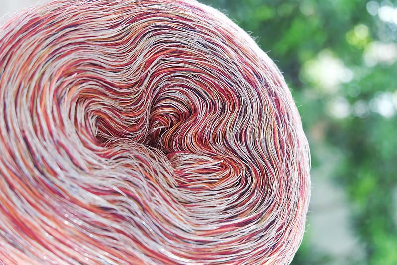 Sundae Scoops Crochet using Sugar Free Yarn Unicorn Fart 2.0