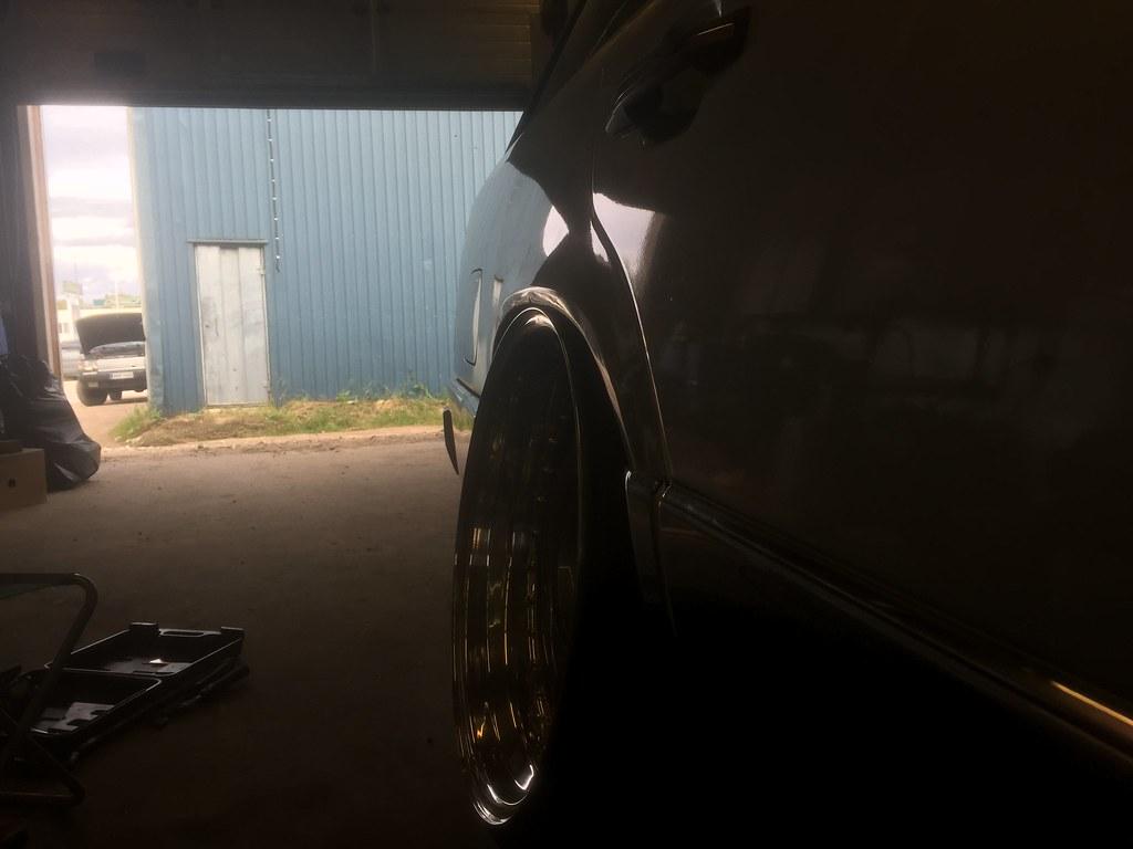 temeee.: Ex S124 & BMW E38 27601507765_2f380760b6_b