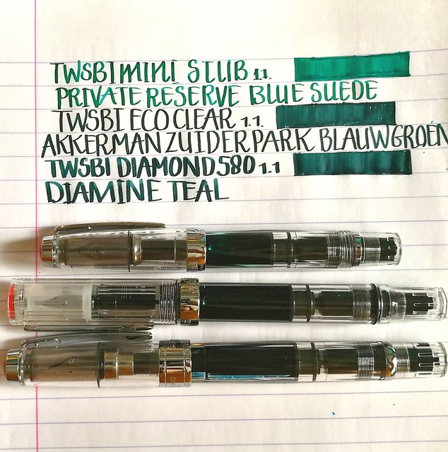 twsbi 3 of a kind