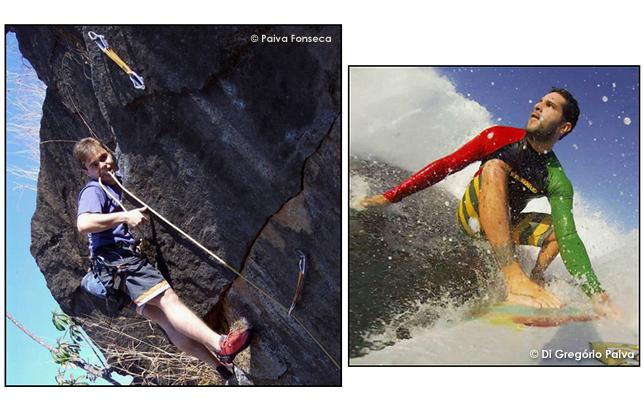 Família - Sobrinho afilhado primo primos Leão de Prata Cannes Ilhas Mentawai Islands surf surfistas Bali Indonesia surfe Indonésia Dusseldorf Alemanha climbing climbers escalada Rio Morro da Urca
