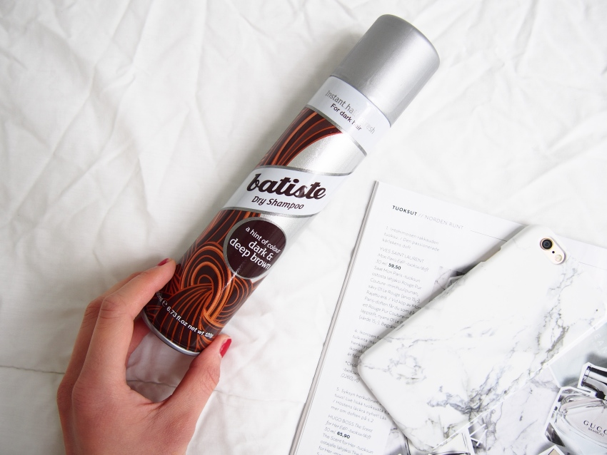 Batiste dry shampoo for brown hair