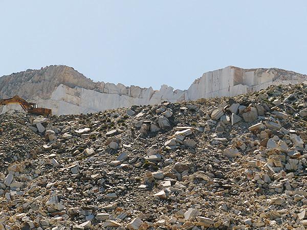 les carrières de marbre de Naxos