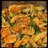 #ZucchiniBlossom #Mushroom #Potato Frittata  #Homemade #CucinaDelloZio -  add the blossoms