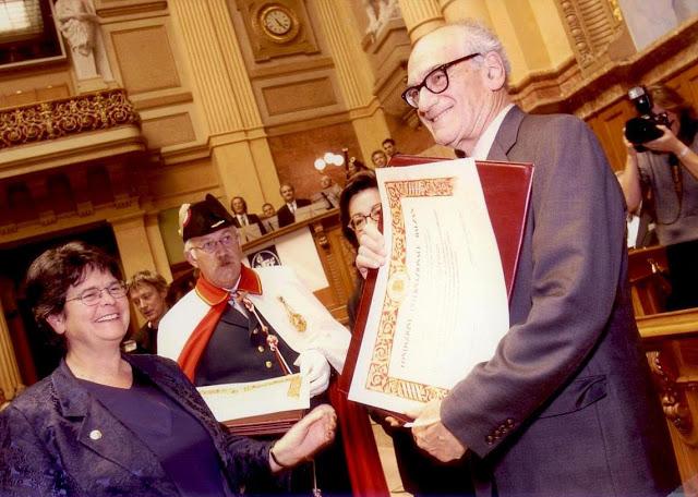 Balzan Prizes 2001-2005