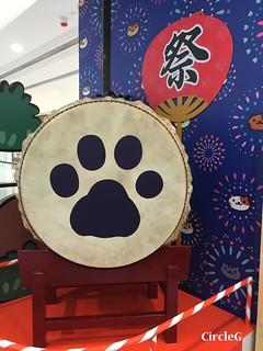 CIRCLEG 香港 遊記 尖沙咀 海港城  LCX NEKO ATSUME 悠遊夏祭 JAPANESE SUMMER FESTIVAL 貓 IPHONE GAME APP (8)