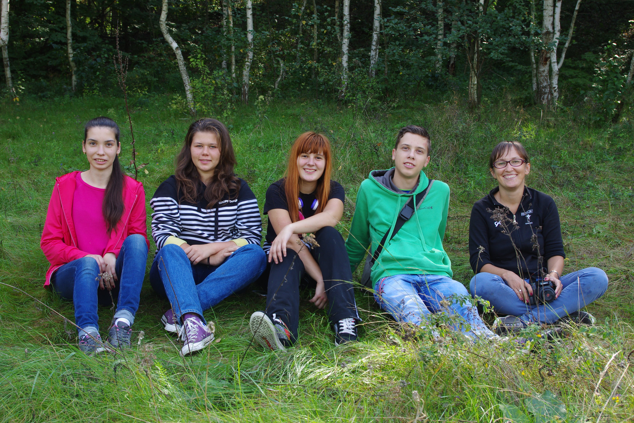 students & Iryna Yatsiuk