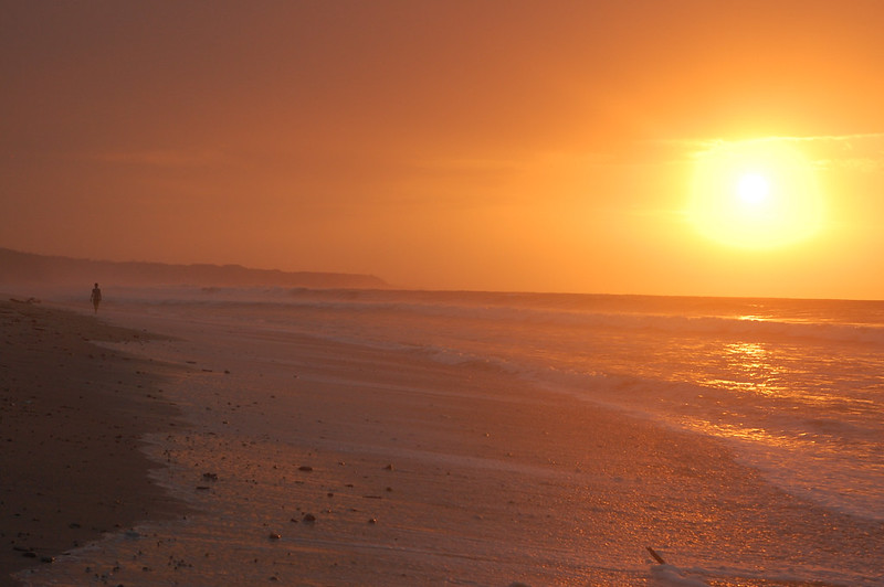 Sunset in Zorritos, Tumbes, Peru
