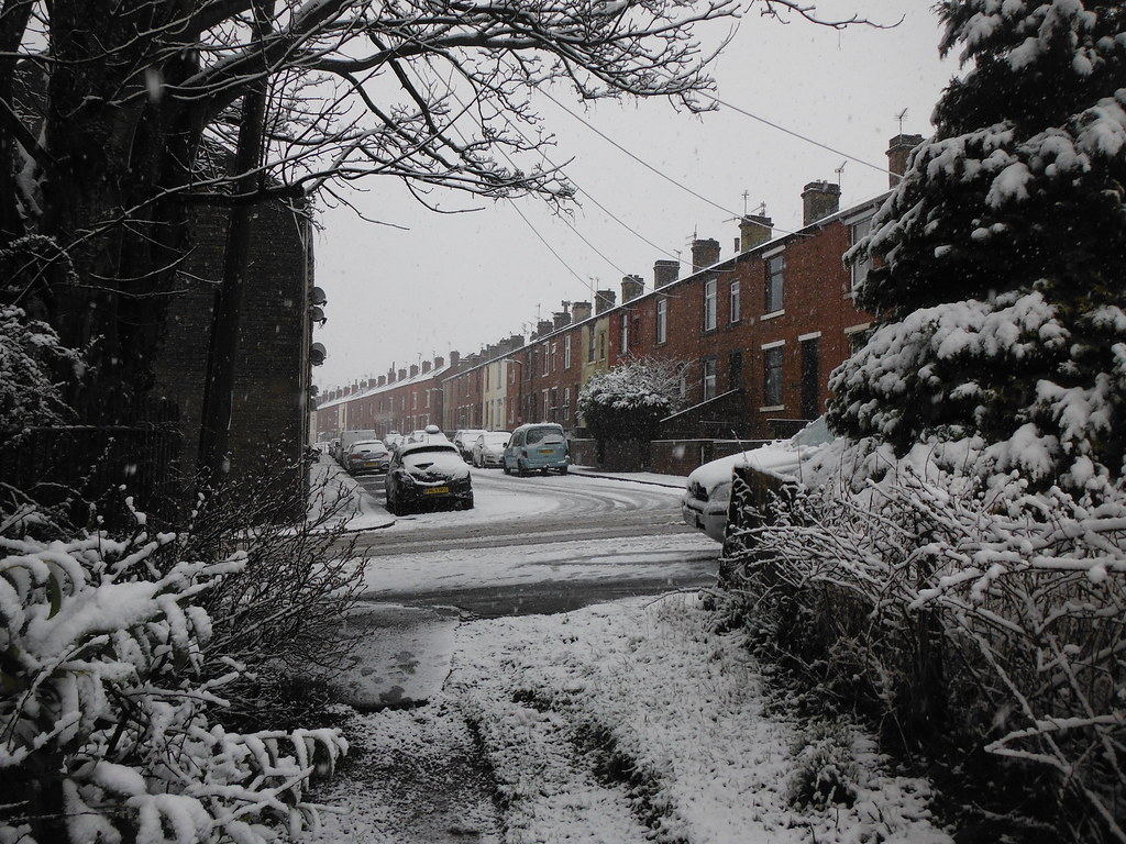 Snow in Earby