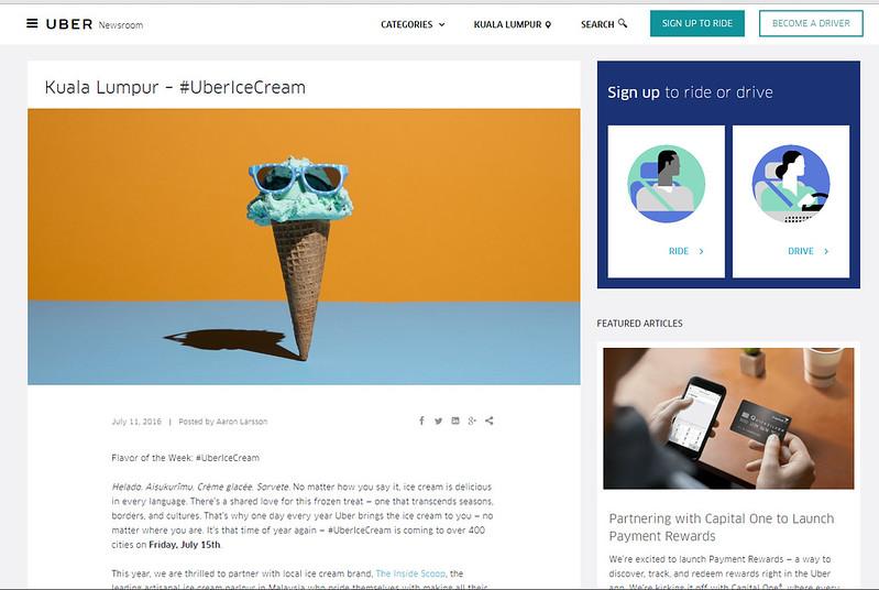 uber icecream