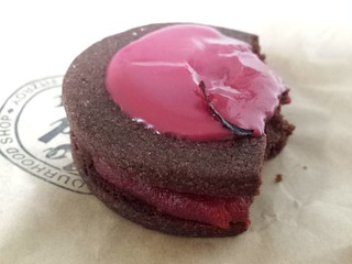 Strawberry and Hibiscus Curd Cookie from Smith & Deli