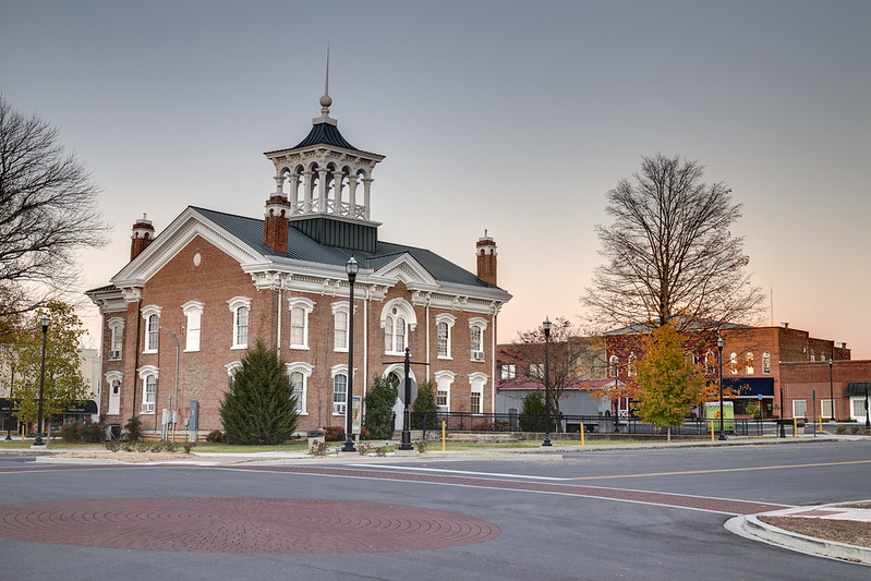 Coffee County Courthouse, Manchester, Tennessee