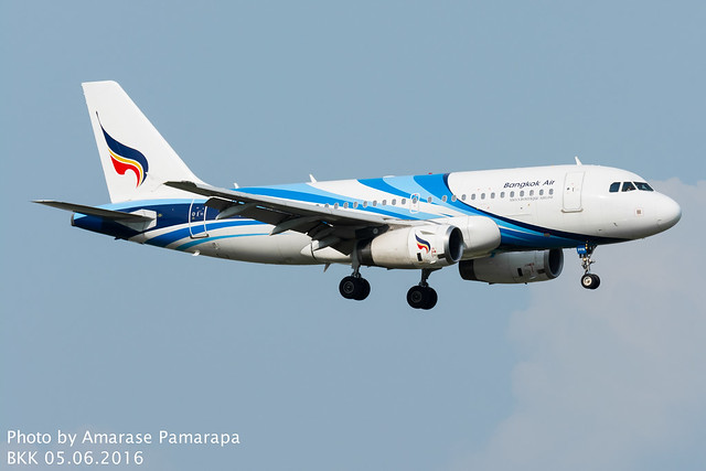 HS-PPN // Bangkok Airways Airbus A319-132
