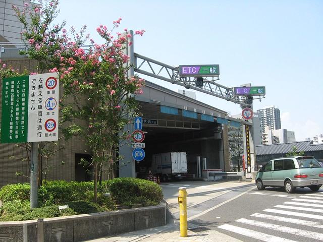 湊町リバープレイスと阪神高速の立体道路 (6)