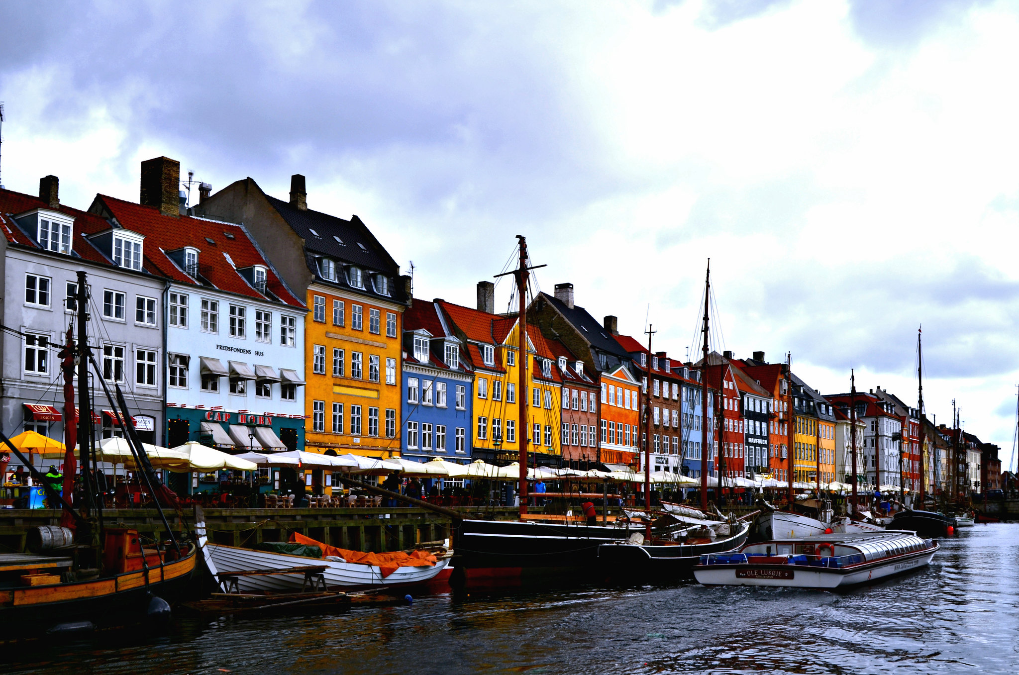 City breaks in Europe can be cheap - admire Copenhagen's beautiful Nyhavn completely free of charge