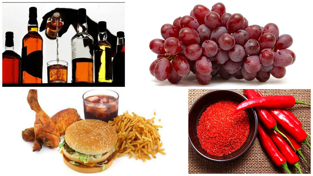 8 Makanan Yang Harus Dihindari Penderita GERD