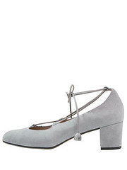 Zalando grey block heel shoes