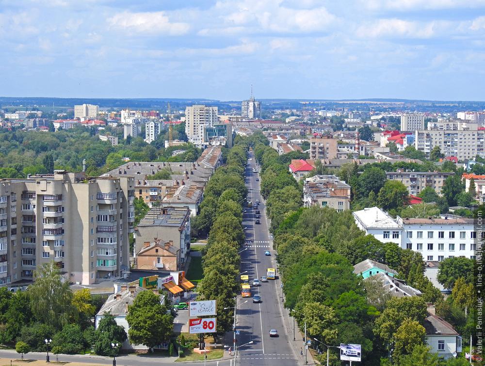 проспект Волі, Луцьк
