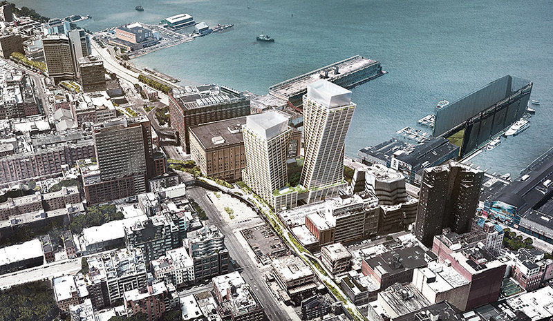 Вращающиеся башни The Eleventh в Нью-Йорке. Проект BIG