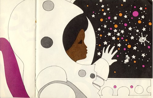 4 Blast Off illustrated by Leo Dillon and Diane Dillon, 1973