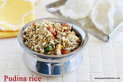 Mint-rice