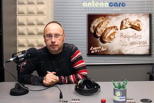 Entrevista - 08-04-16 - Sisco Ollé, regidor de cultura de Roquetes - Festa del 14 d'abril 2016 - web