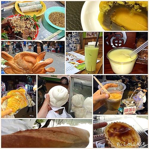 Food in Hanoi, Vietnam ハノイで食べたものたち