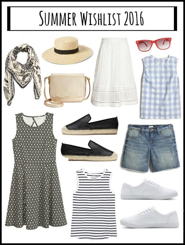 summer style wishlist 2016; Style On Target