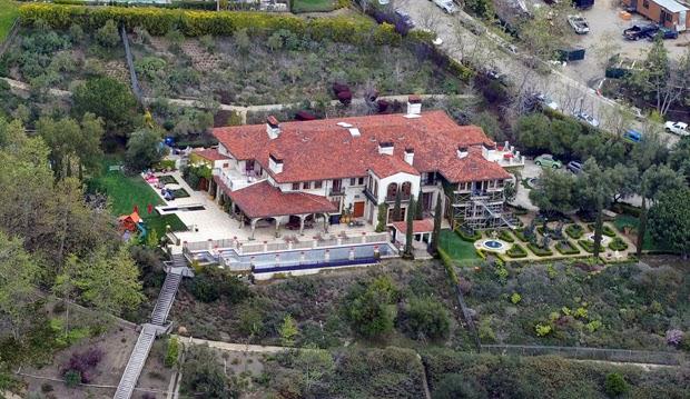 Итальянский дом Хайди Клум в Лос-Анджелесе