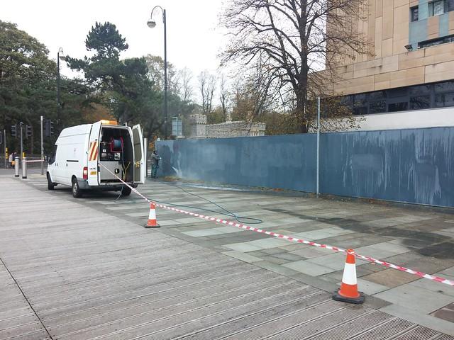 Millennium Walkway graffifi