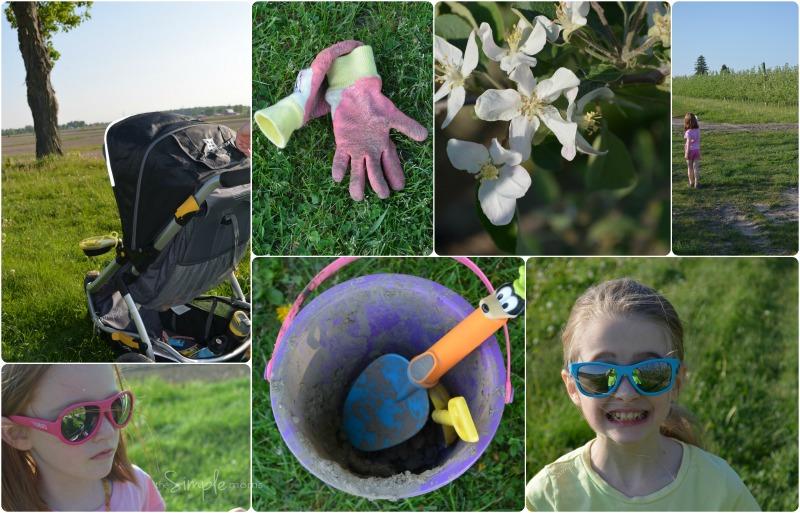 #MothersofNature farm walk collage