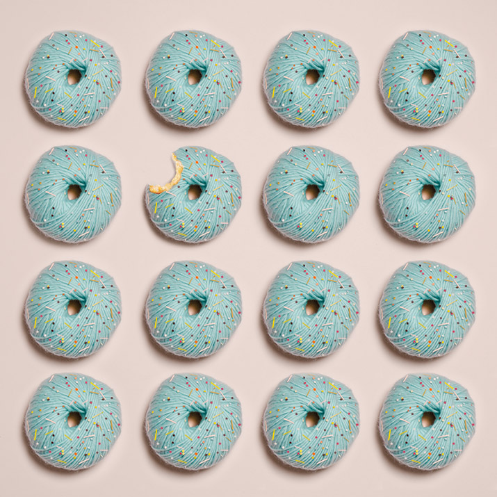 Dirección artística Donuts de lana · Set Design Wool Doughnuts · Fábrica de Imaginación