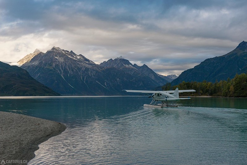 Water taxi - Lake Clark National Park