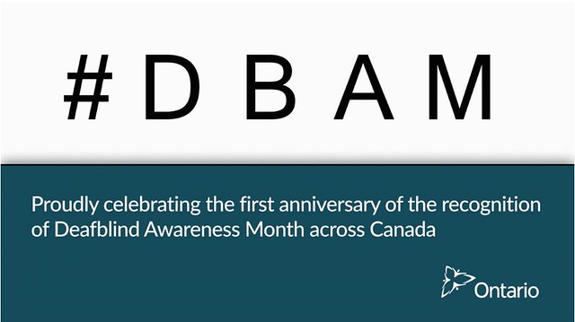 Minister Jaczek's House Statement on Deafblind Awareness Month