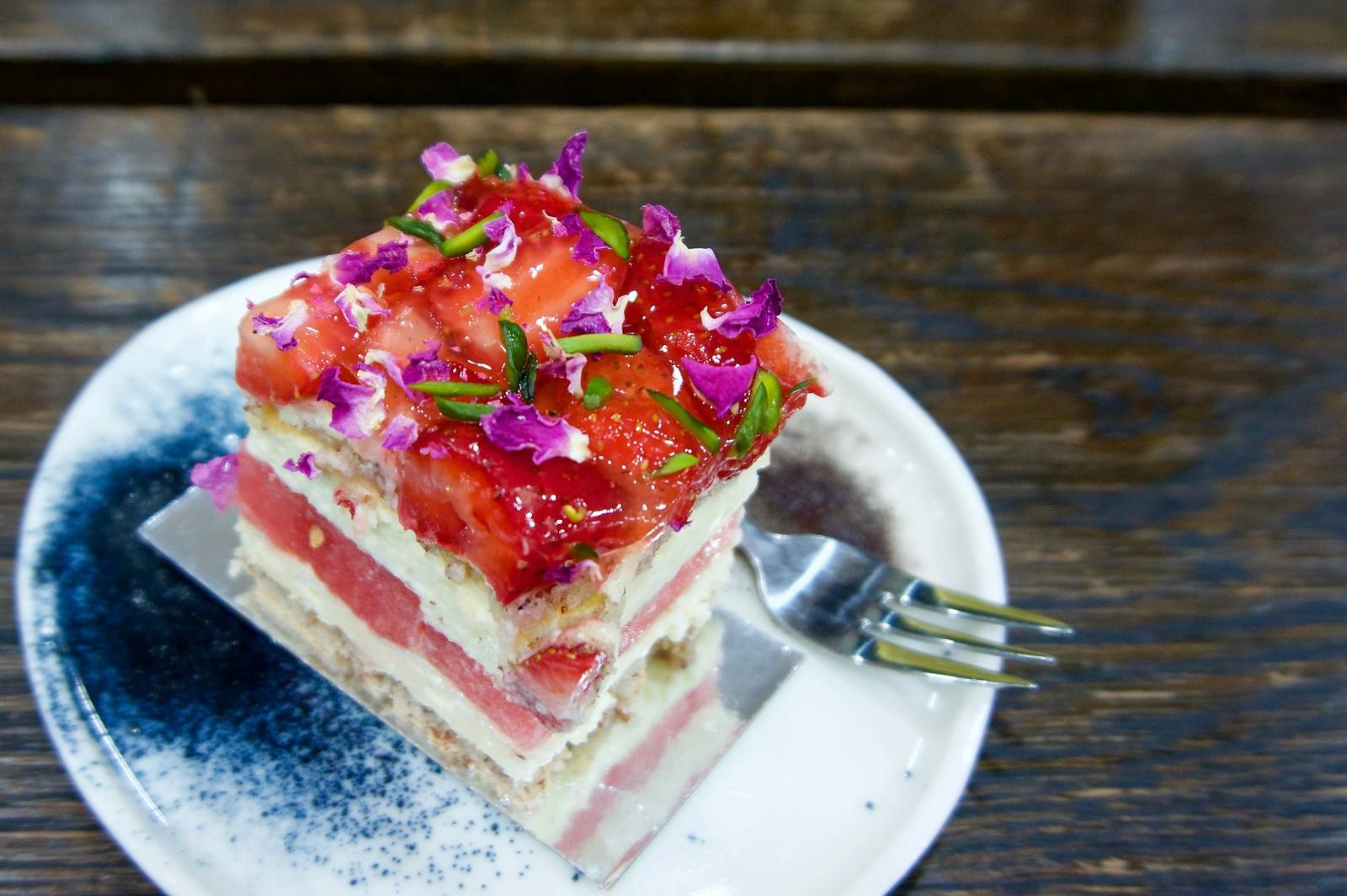 Strawberry Watermelon Cake, Black Star Pastry.