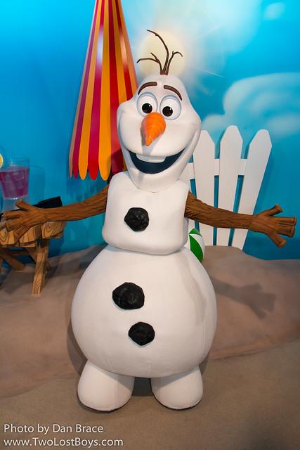 Meeting Olaf