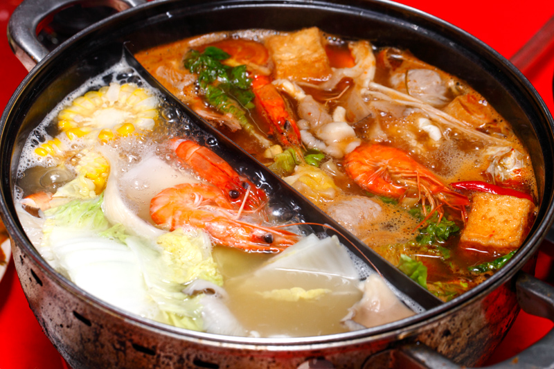 Yin Yong Soup Steamboat