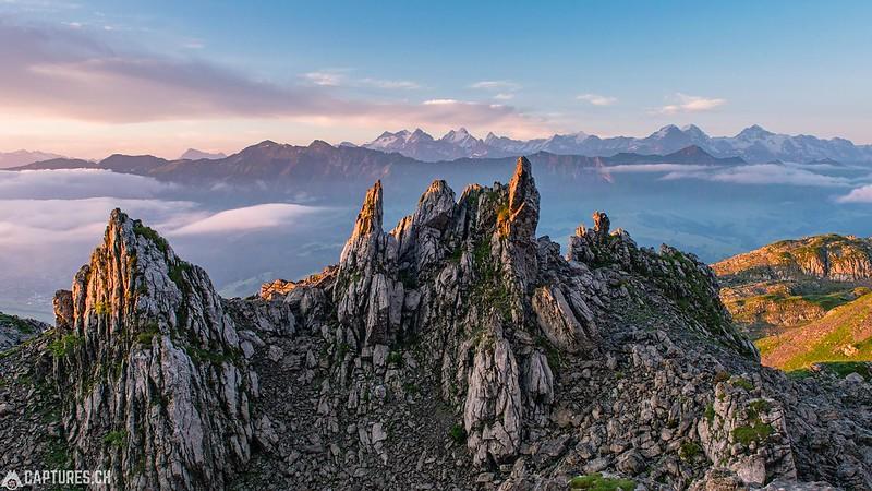Sunrise - Schrattenfluh