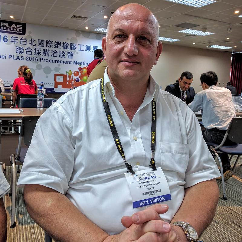 土商Mehmet Uysal激似科曲集團Mustafa Koç前董事長