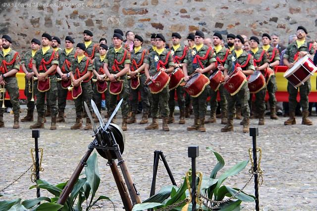 Homenaje a la Bandera DIFAS 2016 Cáceres