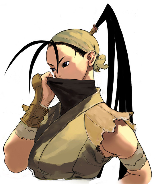 Street Fighter III - Ibuki
