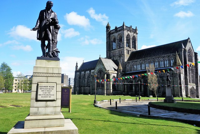 Paisley Abbey, Scotland from North