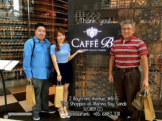 Caffe B Tiffany Yong