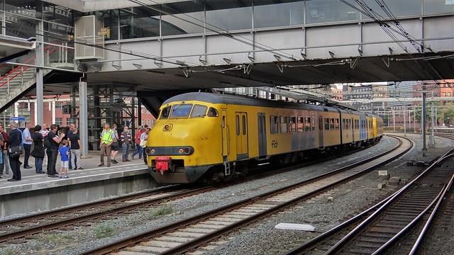 Station Amersfoort Afscheidsrit Mat'64 Plan V 876
