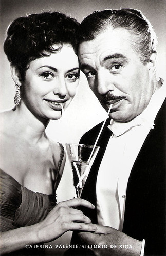 Caterina Valente and Vittorio De Sica in Casino de Paris (1957)