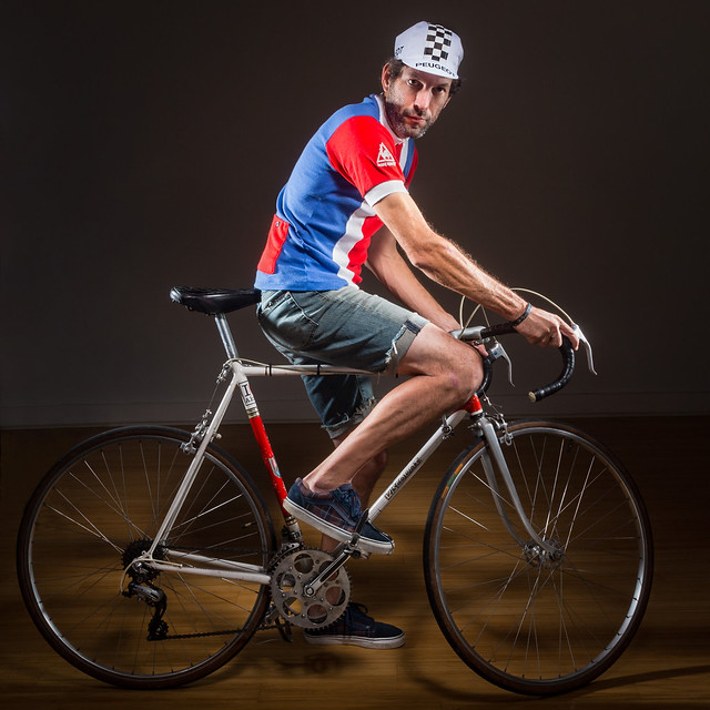 French Cyclist III