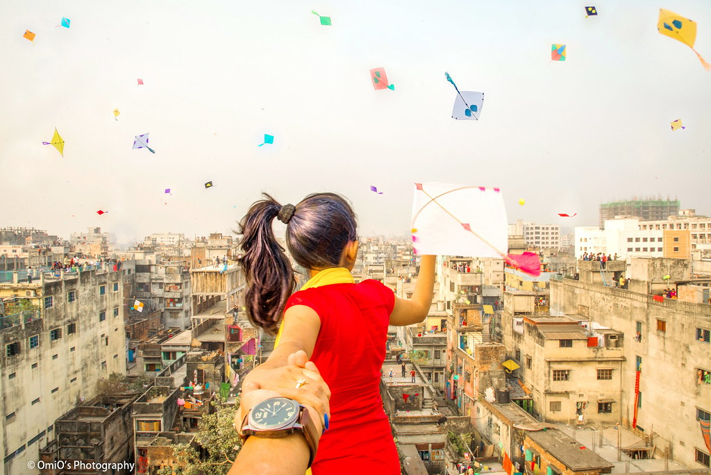 Kite festival of Old Dhaka